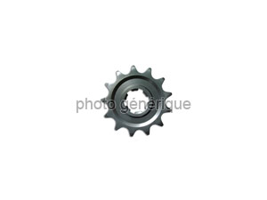 Front sprocket Honda 125 Cr 86