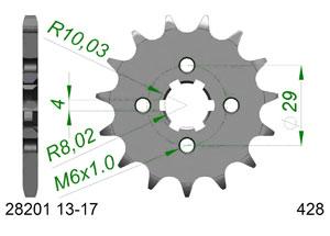 KIT STEEL SUZUKI GSX-R 125 Reinforced