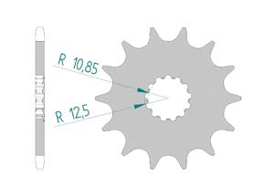 KIT STEEL SUZUKI SV 650 ABS 2016-2018 Hyper Reinforced Xs-ring