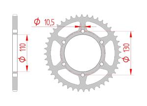 KIT STEEL KAWASAKI VERSYS-X 300 2017 Standard Xs-ring