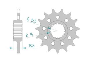 KIT STEEL RACE APR RSV4 1000 R 2010-2011