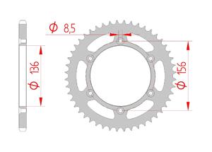 KIT STEEL SHERCO SEF 300 I 2013-2015 Super Reinforced Xs-ring