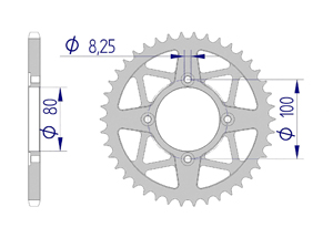 KIT ALU SHERCO 290 2.9 Standard