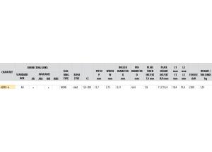 KIT STEEL DERBI DRD 125 SM 2014-2015 ALLOY WH