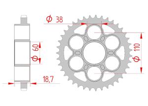 KIT STEEL DUCATI 1100 PANIGALE V4 / S 2018 Hyper Reinforced Xs-ring