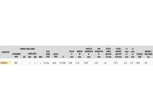 KIT ALU DUCATI 800 MONSTER S IE 2003-2004
