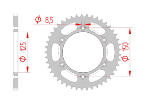 KIT STEEL KTM XC-F 450 2013-2015