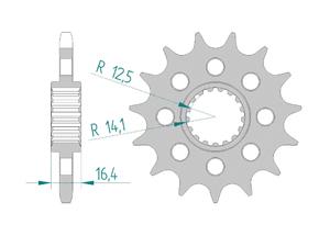 KIT STEEL KTM 1050 ADVENTURE 2015
