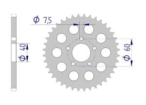 KIT ALU KTM 50 SX MINI 2012-2013