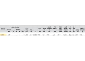 KIT STEEL OEM TRIUMPH 765 STREET TRIPLE 17-18 Reinforced Xs-ring
