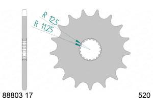 KIT STEEL TRIUMPH 900 STREET SCRAMBLER 17-18 Hyper Reinforced Xs-ring