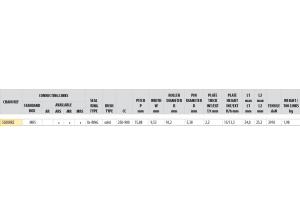 KIT STEEL TRIUMPH 900 TRIDENT 1991-1998 USA