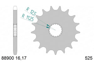 KIT STEEL TRIUMPH 1200 T120 BONNEVILLE 16-18 Hyper Reinforced Xs-ring