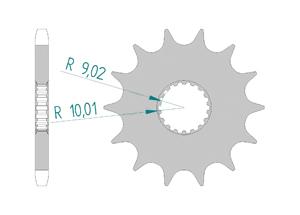 KIT STEEL BULLIT 125 SPIRIT 2017-2018 Reinforced Xs-ring
