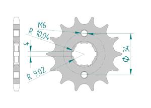 KIT STEEL HONDA CG 125 JC18 1992-1997 Reinforced Xs-ring