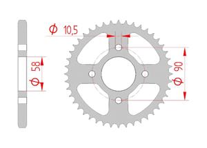 KIT STEEL HONDA 125 CBF 2015 Standard