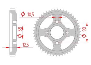 KIT STEEL HONDA XL 125 R ,PARIS DAKAR 84-97 Reinforced Xs-ring
