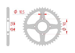 KIT STEEL HONDA XL 125 V VARADERO 2000-2014 Reinforced Xs-ring