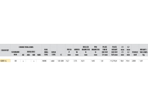 KIT STEEL HONDA CRF 125 E 2014 Reinforced