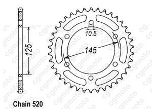 Rear sprocket Xt 660 X/R 04-