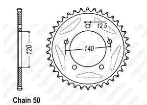 Rear sprocket Gsx 1400 02-06