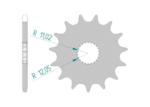 KIT STEEL APRILIA 125 TUONO 2004-2008 Reinforced Xs-ring