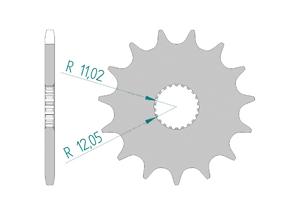 KIT STEEL APRILIA RX 125 2008-2011 Reinforced Xs-ring