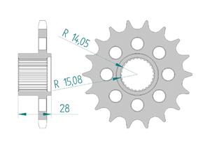 KIT STEEL APRILIA 850 MANA 2008-2012 Hyper Reinforced Xs-ring