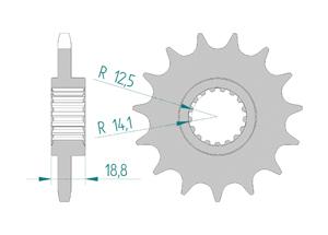KIT STEEL APRILIA SL 1000 FALCO 99-04 Hyper Reinforced Xs-ring