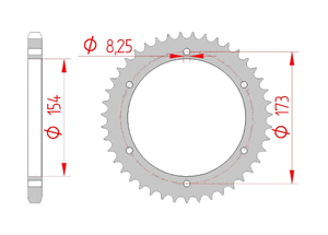 KIT STEEL APRILIA RST 1000 FUTURA 01-03 Hyper Reinforced Xs-ring