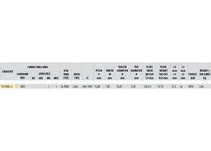 KIT STEEL APRILIA RSV 1000 R/FACTORY 04-09