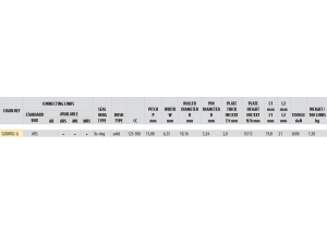 KIT ALU APRILIA 450 RXV 2009-2011