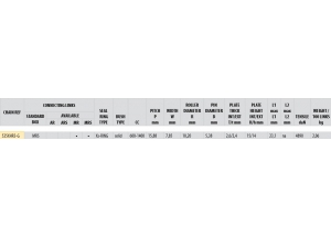 KIT ALU APRILIA 1000 FALCO 1999-2004 Hyper Reinforced Xs-ring