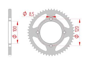KIT STEEL BETA 50 RR SM TRACK 2012-2015 Standard