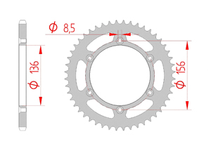 KIT STEEL BETA 498 RR 2012 Super Reinforced Xs-ring