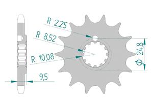 KIT ALU BETA 50 RR 98-01 Reinforced Xs-ring