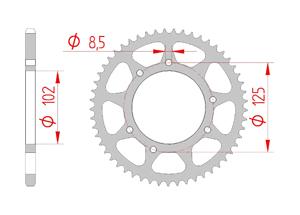 KIT STEEL BULTACO 50 ASTRO SM Reinforced O-ring