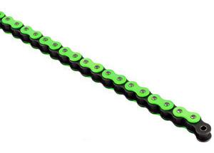 420 Hyper Reinforced 132 links - Green Fluo links