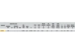 KIT STEEL CAGIVA 600 W 16 1995-1998 Reinforced Xs-ring