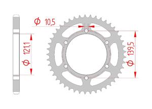 KIT STEEL CAGIVA 650 RAPTOR 01-06 Reinforced Xs-ring