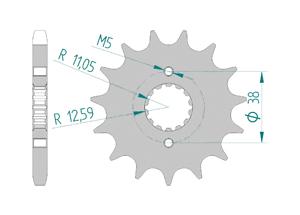KIT STEEL CAGIVA 750 ELEFANT 1987-1989 Reinforced Xs-ring