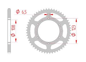 KIT STEEL DERBI GPR 50 NUDE 2004-2005 Reinforced O-ring