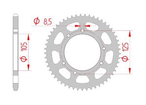 KIT STEEL DERBI SENDA 50 R X'RACE 2004-2005 Reinforced O-ring