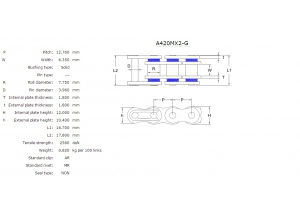 KIT STEEL DERBI SENDA 50 SM CLASSIC 97-98 MX Racing