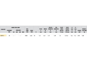 KIT STEEL DERBI 50 SM X-TREME 2002-2005