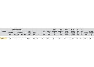 KIT STEEL DERBI 50 SM RACER 2002-2003