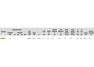 KIT STEEL DERBI SENDA 125 DRD SM 2009-2012 Reinforced Xs-ring