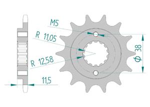 KIT STEEL DUCATI 350 SPORT,SS 1992-1994 Reinforced Xs-ring