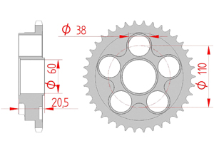KIT STEEL DUCATI 748 S/BIPOSTO 1999-2002 Super Reinforced Xs-ring