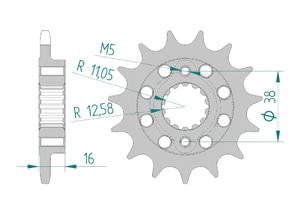 KIT STEEL DUCATI 748 1996-2002 FOR PCD1 Hyper Reinforced Xs-ring